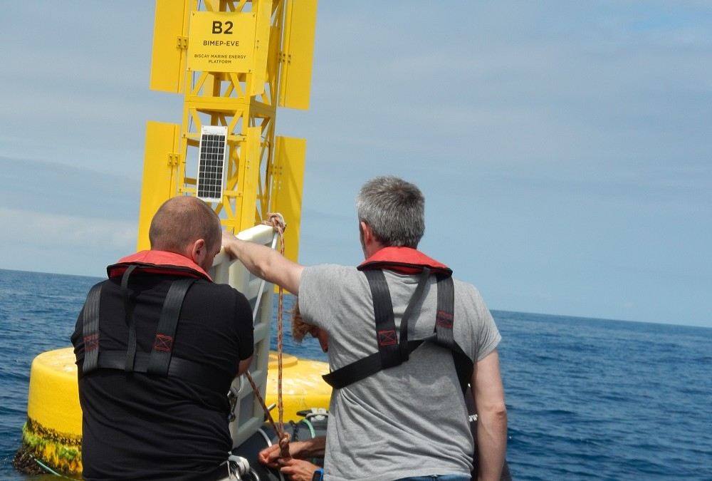 IK4 AZTERLAN starts OCEANIC project field testing at the BIMEP