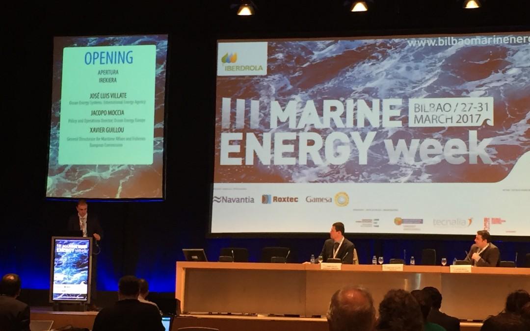 OCEANIC at the III Marine Energy Week
